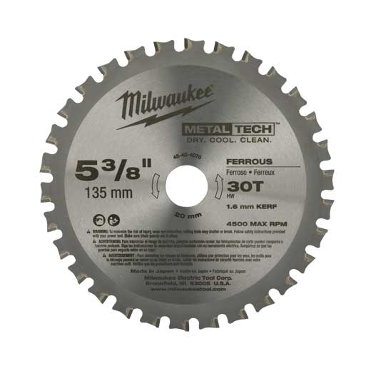 BLADE SAW CIRCULAR 5-3/8IN 0.05IN 20MM